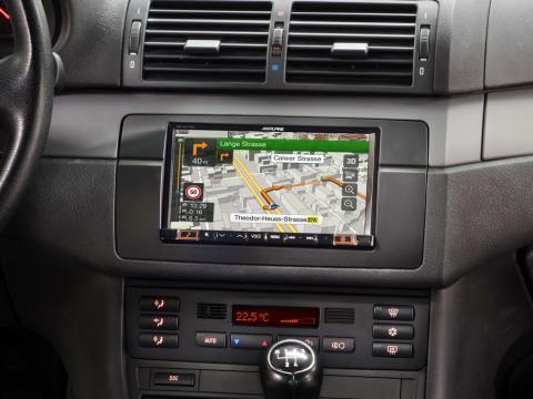Alpine CDE-193BT CD MP3 USB Receptor de medios Estéreo Bluetooth iPhone Siri Control