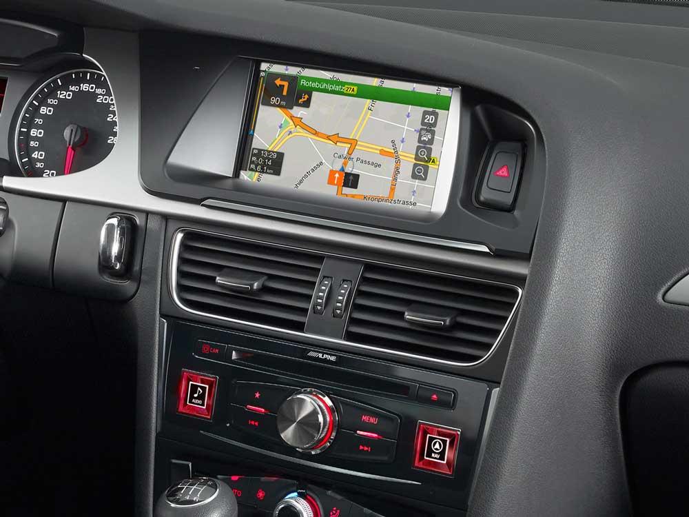 Sistema De Navegaci 243 N Avanzado Producto Alpine Style Para Audi A4 Alpine X701d A4