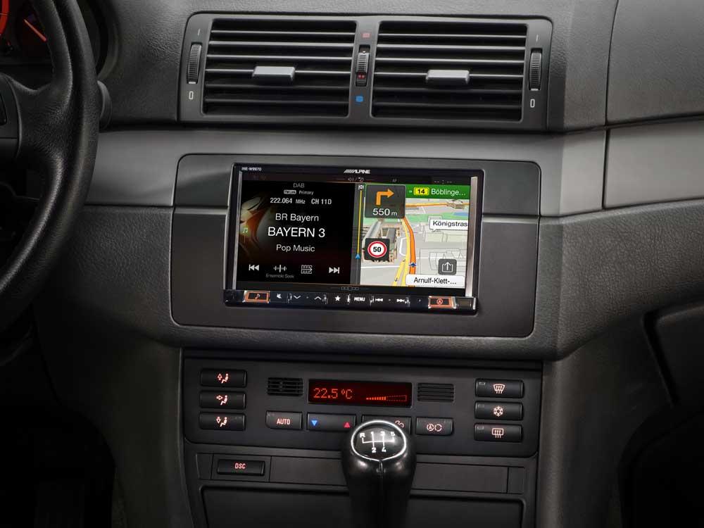 Renault Scenic MK2 03-05 JVC CD MP3 USB Automóvil Estéreo Kit de Montaje Volante