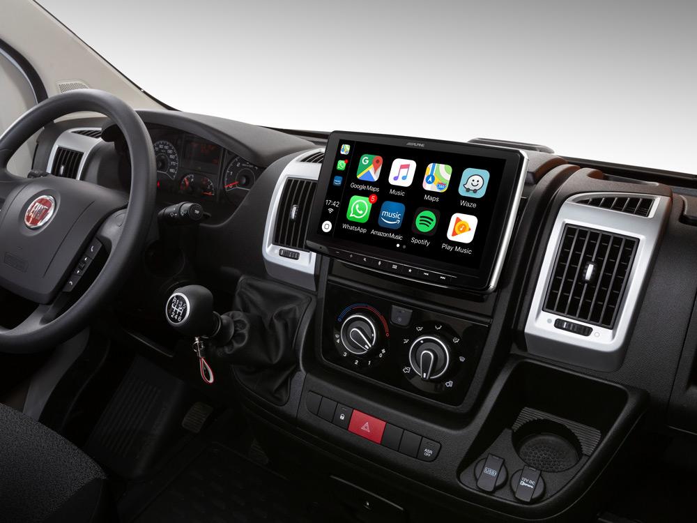 """Sistema Multimedia con pantalla de 9"""" para Fiat Ducato 3"""