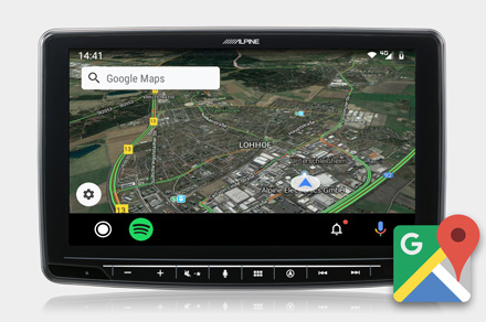 Google Maps - INE-F904D