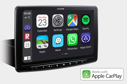 INE-F904D - Works with Apple CarPlay