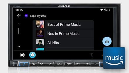Amazon Music - iLX-702D