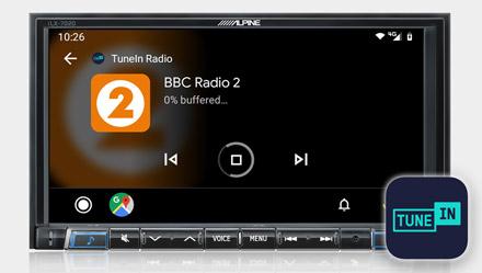 TuneIn Radio - iLX-702D