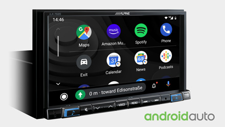 Works with Android Auto - iLX-702D