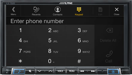 Built-in Bluetooth® Technology - iLX-702D