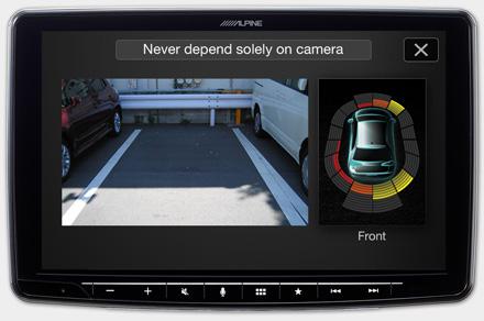 iLX-F903D - Drive-Assist Cameras