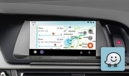 Audi A5 - Online Navigation with Waze - X703D-A5