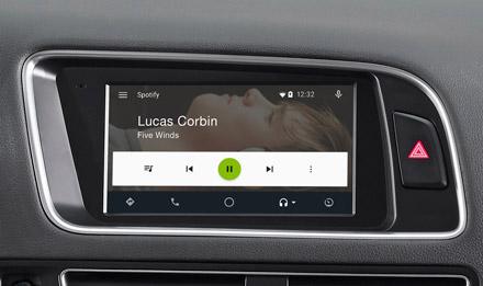 Audi Q5 - Spotify - X702D-Q5