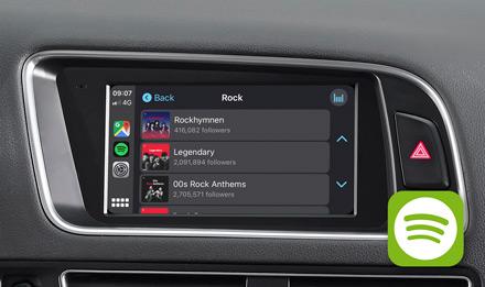 Audi Q5 - Spotify - X703D-Q5