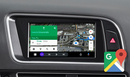 Online Navigation with Google Maps - X703D-Q5