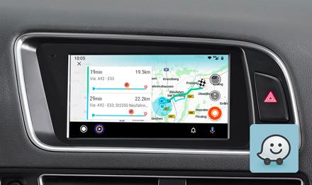 Audi Q5 - Online Navigation with Waze - X703D-Q5