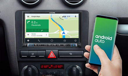 Online Navigation with Android Auto - INE-W710A3