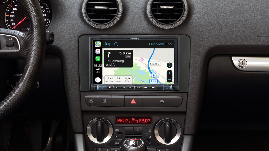 Integrated Navigation in your Audi A3 - INE-W710A3