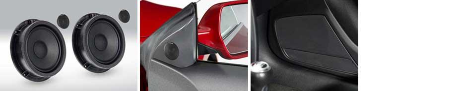SPC-100AU: Actualización al sistema de altavoces delanteros de alta gama de 2 vías - Experiencia de sonido para audiófilos para Audi Q5