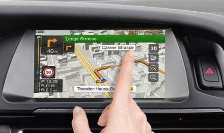 Audi A4 - X701D-A4: Pantalla táctil de alta resolución
