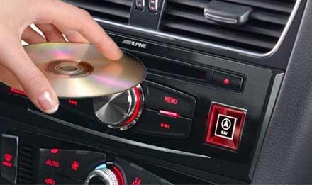 Audi Q5 Expansión del sistema - DVE-5300X - Reproductor de CD / DVD