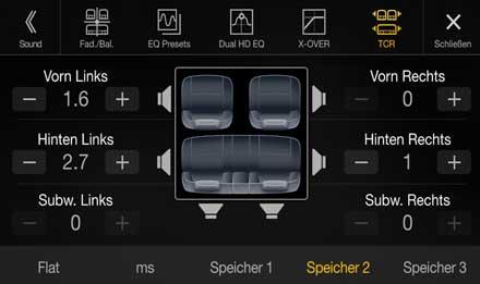 Audi A4 - X701D-A4: Calidad de sonido premium