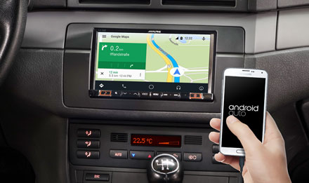 Online Navigation with Android Auto - INE-W720E46