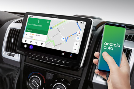 INE-F904DU - Online Navigation with Android Auto