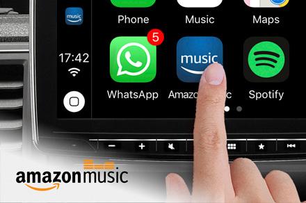 Alpine iLX-F903DU - Amazon Music