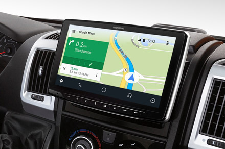 iLX-F903DU - Online Navigation with Android Auto
