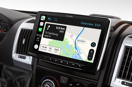 iLX-F903DU - Online Navigation with Apple CarPlay