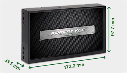 Freestyle solution for custom installs - Navigation System X703D-F