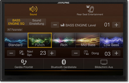 Bass Engine SQ Sound tuning - Navigation System X901D-F
