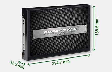 Freestyle solution for custom installs - Navigation System X901D-F
