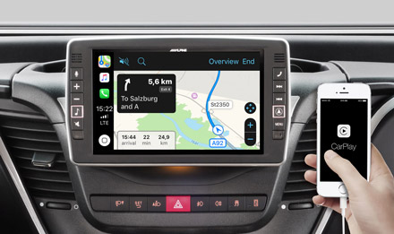 Online Navigation with Apple CarPlay - X902D-ID