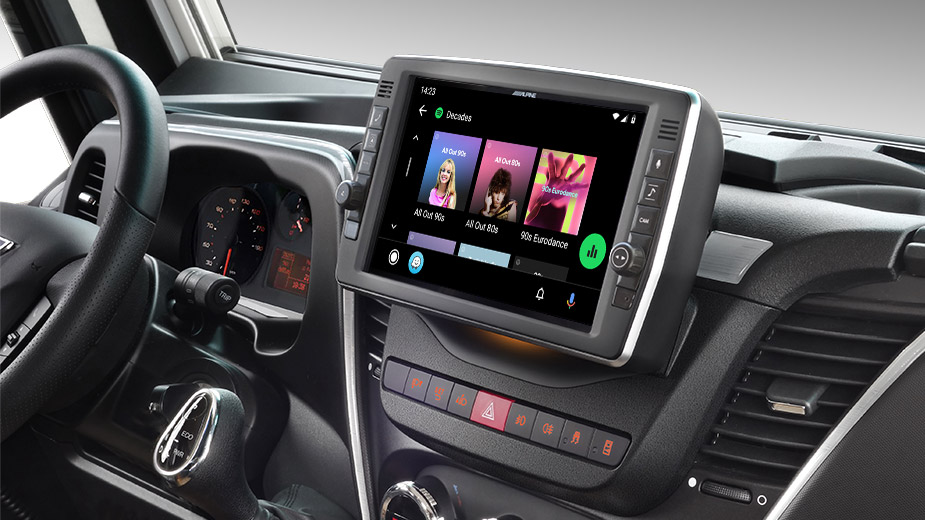 Iveco Daily - Big Screen Entertainment - X903D-ID