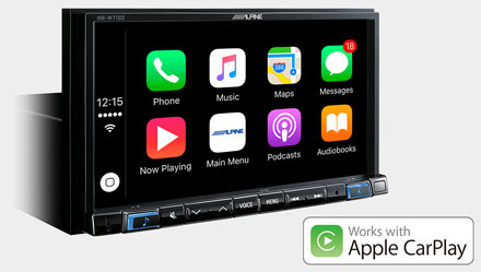 Mercedes ML/GL - Works with Apple CarPlay - INE-W710ML