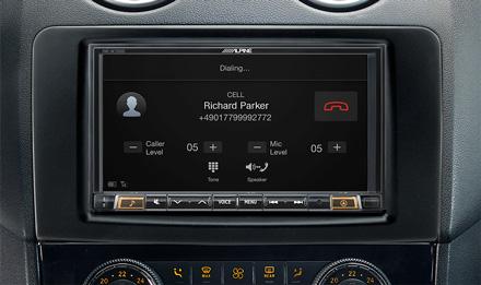 Mercedes ML/GL - Built-in Bluetooth® Technology - INE-W720ML