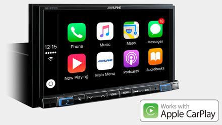 Mercedes ML/GL - Works with Apple CarPlay - INE-W720ML