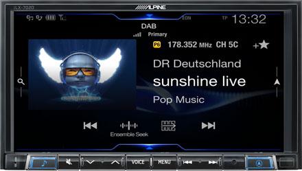 DAB+ Digital Radio - iLX-702S453B
