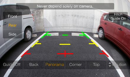 Smart 453 - Rear View Camera - iLX-702S453B