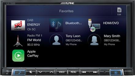 Favourites - Digital Media Receiver iLX-702S453B