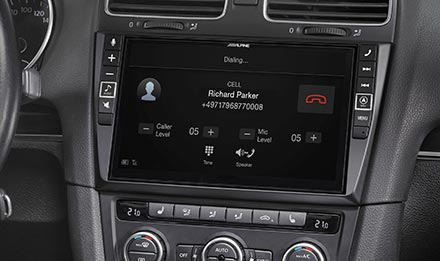 Golf 6 - Built-in Bluetooth® Technology - X902D-G6