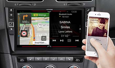 Golf 6 - Navigation - One Look Display  - X902D-G6