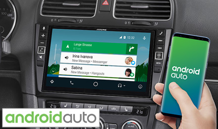 Golf 6 - Works with Android Auto - X903D-G6