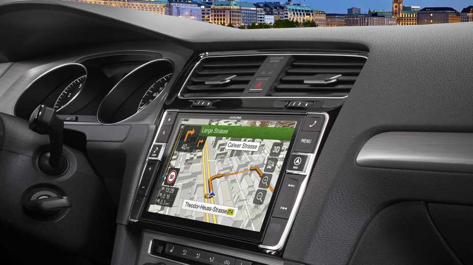Alpine Style Navigation Designed for Volkswagen Golf 7 - X901D-G7