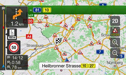 Golf 7 - Navigation - Plan Your Route  - X901D-G7